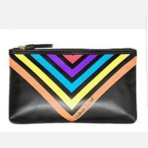 Victoria Secret Small Rainbow Cosmetic Bag